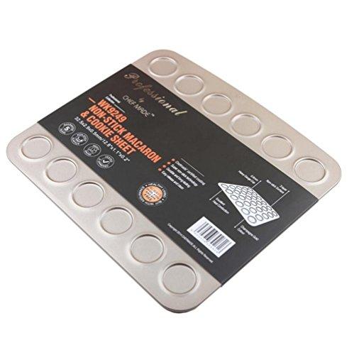 HAIYUANNAN Metall-Macaron-Kuchen-Form-Ausgangsplätzchen-Biskuit-Form-nichthaftende Backform-Backen-Werkzeuge - 30 Tassen