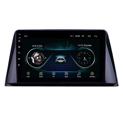 WHL.HH para Peugeot 308 2016-2018 Auto Estéreo Androide 9 GPS Navegación Cabeza Unidad HD Multi Tocar IPS Pantalla Multimedia Jugador Apoyo SWC WiFi Radio Video Receptor