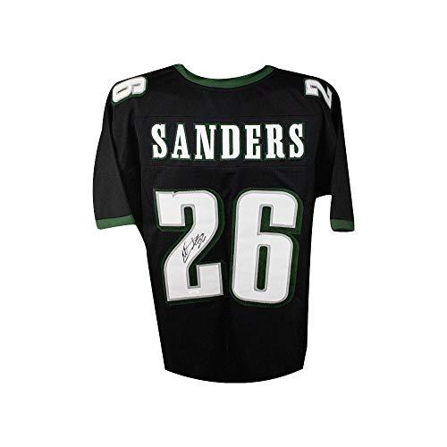 Miles Sanders Autographed Philadelphia Eagles Custom Black Football Jersey - JSA COA
