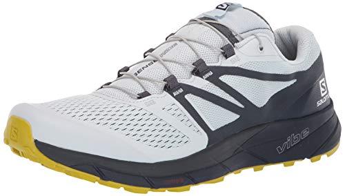 SALOMON Herren Sense Ride 2 Trail Laufschuhe Sneaker, Blau (Blazer Illusion Blau/Marineblau), 45 EU