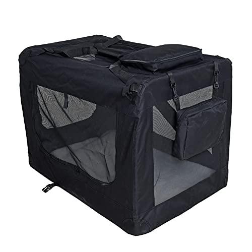 ESTEXO Hundebox Hundetransportbox...