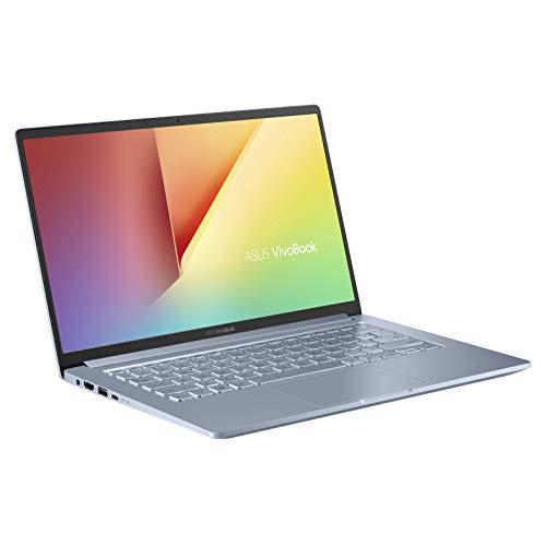 ASUS VivoBook A403FA (90NB0LP2-M03160) 35,5 cm (14 Zoll, FHD, WV, matt) Notebook (Intel Core i5-8265U, 8GB RAM, 512GB SSD, Intel UHD-Grafik 620, Windows 10) Silver Grey Blue