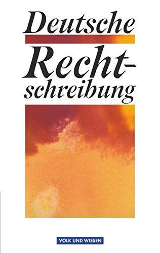 Deutsche Rechtschreibung: Wörterbuch
