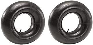 4.80/4.00-8 Premium Replacement Inner Tube (2 Pack) - Heavy Duty Straight Valve 4.80 x 4.00 - 8 Tube for 16