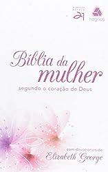 Bíblia da mulher segundo o coração de Deus - Lírio rosa