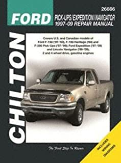 Chilton Repair Manual Ford 1997-2003 Pickup, 1997-2017 Expedition/Navigator