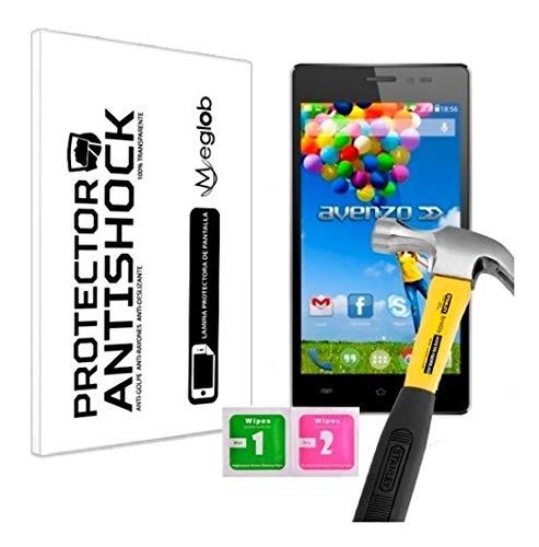Protector de Pantalla Anti-Shock Anti-Golpe Anti-arañazos Compatible con Avenzo Xirius 5