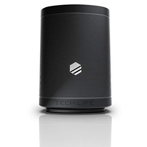 Tech-Life Boss Portable Bluetooth Speaker- Heavy Bass, 35 Watts, Premium Outdoor Party Speker W/Speakerphone, Siri and Google Assitant – Multi-Link 100 Speakers, 300 ft Wireless Range, IPX5