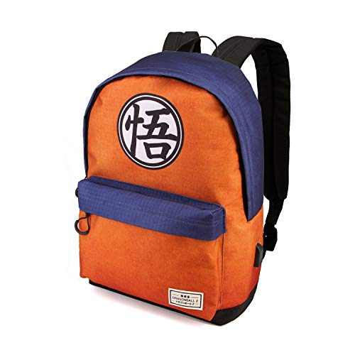 Karactermania Dragon Ball Symbol - Mochila Tipo Casual, Multicolor, 42 cm