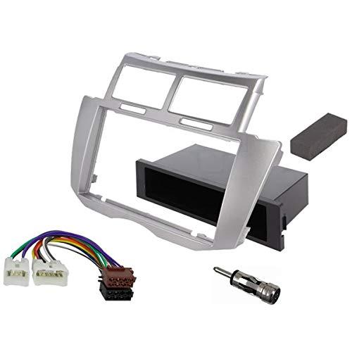 Sound Way - Kit Montaggio autoradio 1 DIN /2 DIN Adattatore per Toyota Yaris 2005-2011 - 2D-yaris09