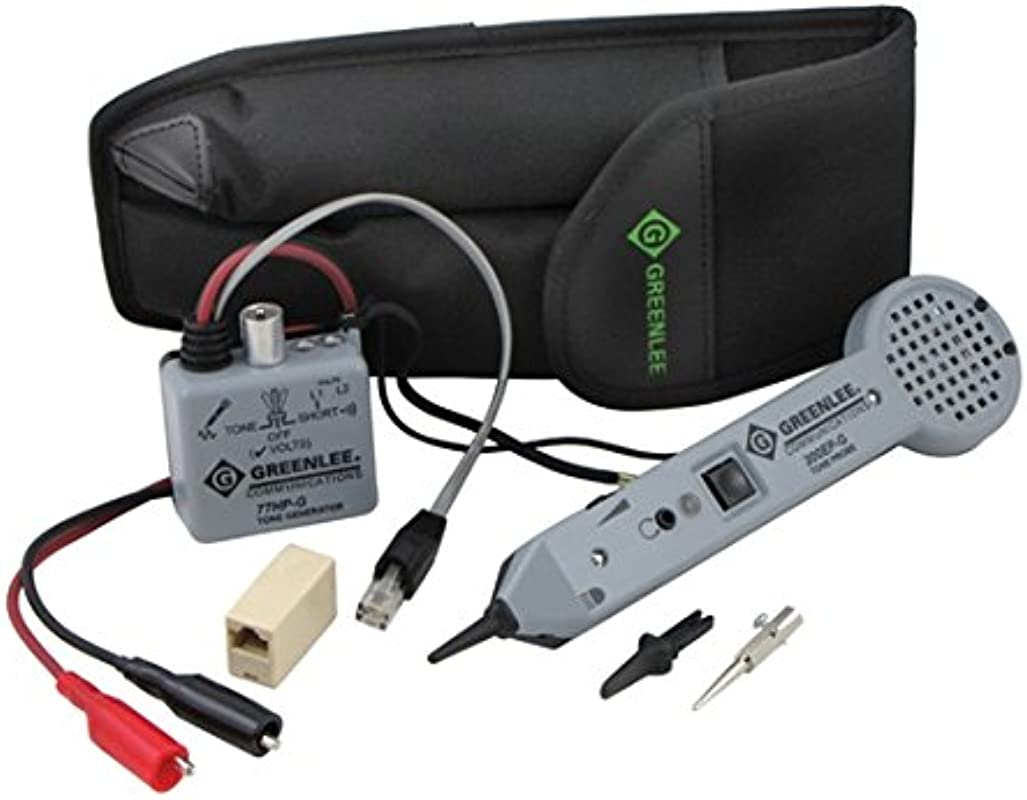 Greenlee Textron 701K G Professional Tone And Probe Tracing Kit