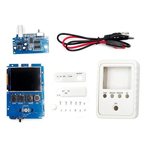 Hiinice Osciloscopio Digital Kit Dso150 Osciloscopio De Almacenamiento De Bricolaje Kit con El Instrumento De Medición Bnc-Clip Cable Sonda Electrónica