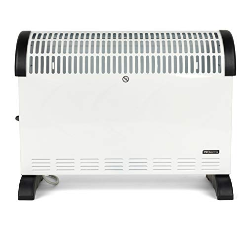 41N6eY7gCML. SS500  - Prolectrix® COMBO-5919 Electric Portable Convector Heater, 2000 W, White, Set of 3
