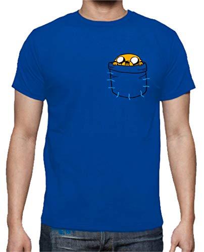 The Fan Tee Camiseta de Hombre Hora de Aventuras Jake Finn 005 XL