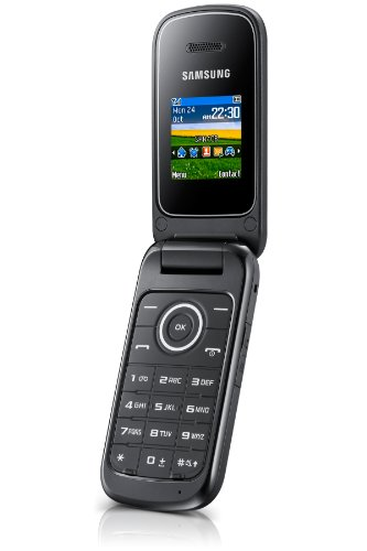 'Samsung Coconut E1190Freien Handy (1.43Display, 64MB, 600MHz), silber