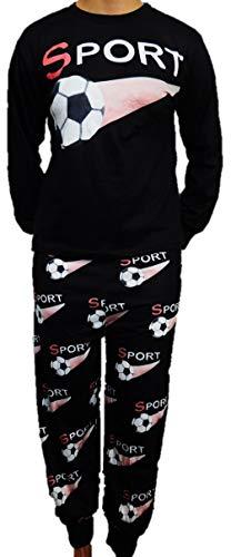Toller Jungen Schlafanzug Pyjama in den Größen 140-176 (152-164)