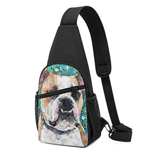 Mochila bandolera para perro Collage de hombro, bandolera, bolsa cruzada