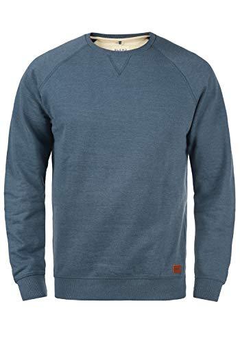 BLEND Alex 20701680ME Sweatshirt, Größe:M;Farbe:Ensign Blue (70260)