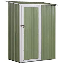 ✅SPACIOUS STORAGE: Provides room in your garden for keeping tools, equipment and anything you need to be kept dry and protected. ✅STEEL FRAME: Corrugated for extra strength, provides a stable structure, with a weather-resistant top coating for reliab...