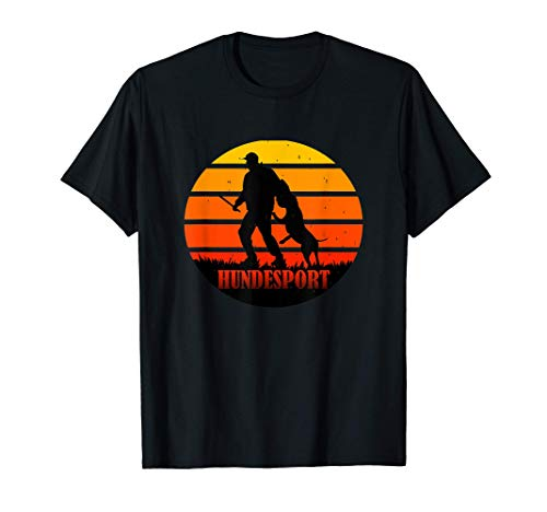 Hunde-Sport T-Shirt Hundeplatz IGP IPO Schutzhund vintage T-Shirt