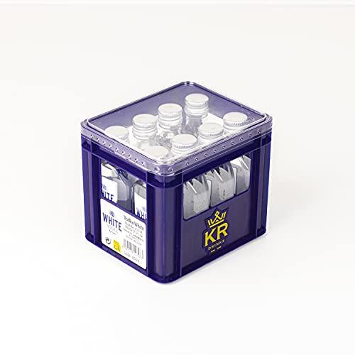 White Vodka Vodka White | Mini Cajón 50ml x 8ud | 37,5°%Vol | Vodka de intenso sabor. Aconsejamos tomarlo frío | botellas de licor miniatura | mini botellas alcohol - 400 ml