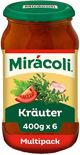 MIRÁCOLI Pasta Sauce Kräuter, 6 Gläser (6 x 400g)