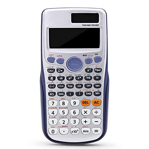 Jackallo Calculadora científica Calculadora de 417 Funciones para la Oficina de Estudiantes universitarios de Secundaria
