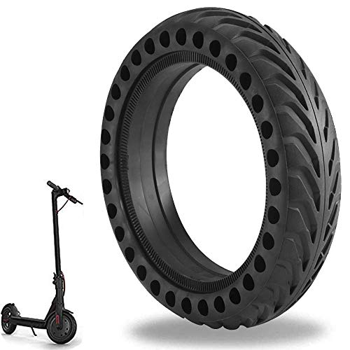 Mi Scooter Tires, Ourleeme Electric Scooter Tire Honeycomb Design,8.5In Rubber Solid Tire Front/Rear Tire,Replacement Wheels for Scooter
