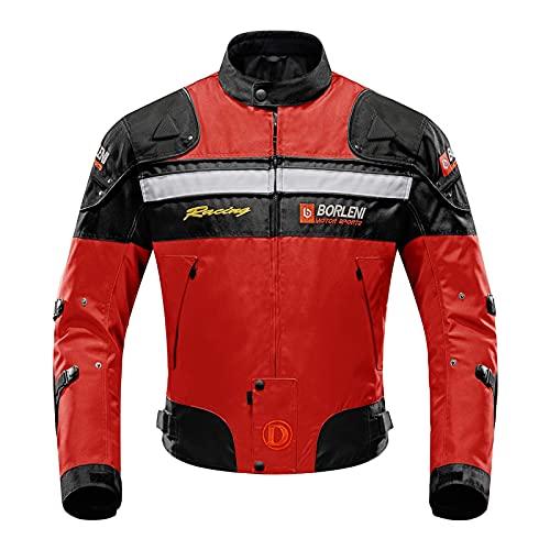 Borleni Motorcycle Jacket Motorbike Riding Jacket