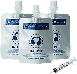 H4O ペットウォーター 30本 水素水 シリンジセット