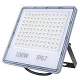 Faretto LED Esterno 100W, Faro LED Esterno 10000Lumens, Luce di...