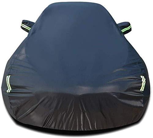 TYTZSM Kompatibel mit George Barton Chariot Car Cover Outdoor atmungsaktiv volle Auto-Abdeckung wasserdichte Sonnenschutz Isolierung UV Scratch Proof Allwetter Windschutzscheibe Staubschutz