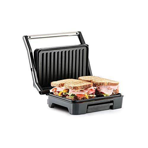 Taurus ETNA INOX Grill, parrilla eléctrica, sandwichera y plancha de asar, placas...