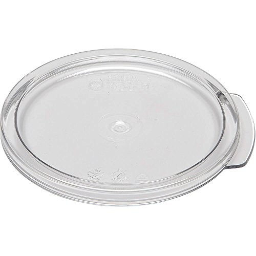 Find Discount Cambro RFSCWC1135 Camwear Cover for 1 qt. round storage container clear - Case
