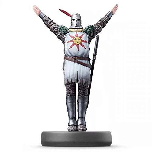 Zpzzy Dark Souls Solaire of Astora PVC Figure Toy Action Role-Playing Game NPC Figure Sun Knight Statue Favorite Collection of Game Lovers