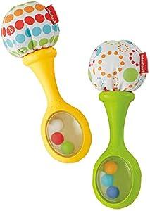 Fisher-Price - Maracas musicales - juguetes bebe - (Mattel BLT33)