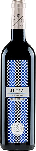 6x 0,75l - 2015er - Bodega de Moya - Julia - Monastrell - Valencia D.O. - Spanien - Rotwein trocken