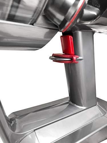 NEUES/VERBESSERTES DESIGN Dyson Zubehör Griffhalterung Halterung Fixierung - für Dyson V7 V8 V10 V11Hand Staubsauger/Organizer und Dockingstation - Best in Design - sehr schnelle und einfache Montage