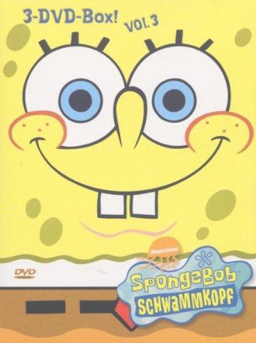 SpongeBob Schwammkopf - 3er Box, Vol. 03 [3 DVDs]