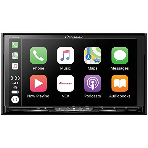 Pioneer AVH-W4500NEX Double Din Wireless Mirroring Android Auto, Apple Carplay in-Dash DVD/CD Car Stereo Receiver (Renewed)