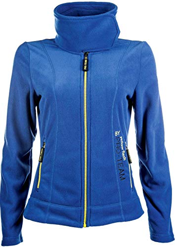 HKM Kinder Fleecejacke -Flash Jacke, Kornblau, 176