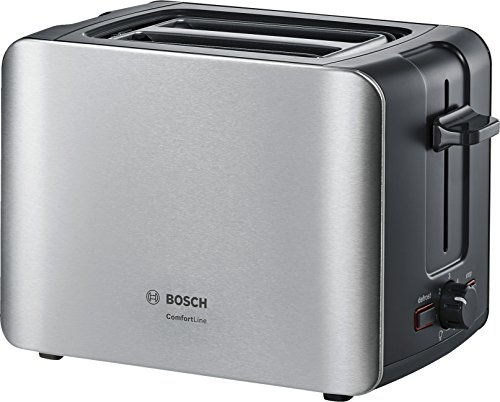 Bosch TAT6A913 Tostador,1090 W, 2 ranuras, color negro