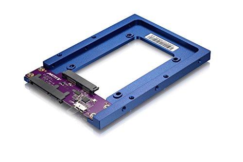 AKiTiO U3.1 Neutrino Bridge AKiTiO U3.1 Duo専用 2.5インチドライブ変換アダプター(アミュレットオリジナルマニュアル付き)