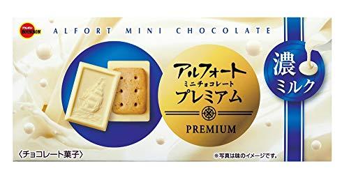 ブルボン アルフォートミニチョコレートプレミアム濃ミルク 12個 ×10箱