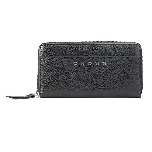 Cross Spanish Summer Black Leather Women's Wallet (AC528092-4)