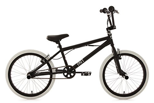 KS Cycling 603B BMX Freestyle Mixte Enfant, Noir, 20'