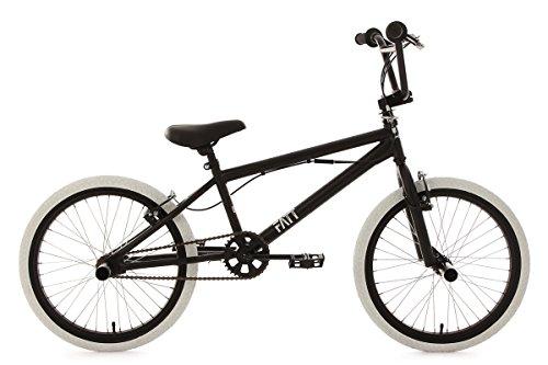 KS Cycling 603B BMX Freestyle Mixte Enfant, Noir, 20\