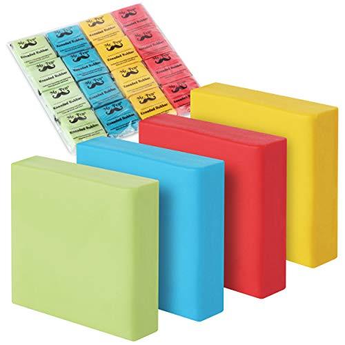 Mr. Pen- Kneaded Eraser, Erasers for Drawing, 16 Pack, Artist Eraser, Kneaded Erasers for Artists, Kneadable Erasers, Drawing Erasers, Art Erasers, Putty Eraser, Erasers for Sketching, Rubber Erasers