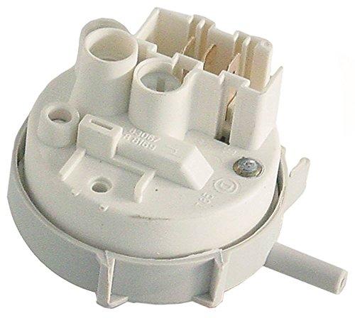Electrolux Pressostaat voor vaatwasser 402010, 698204, 698203, 402042, 698201 110/55mbar ø 58mm aansluiting 6mm 6mm ZANUSSI