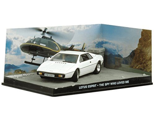 007 James Bond Car Collection #16 Lotus Esprit (The spy who loved me)